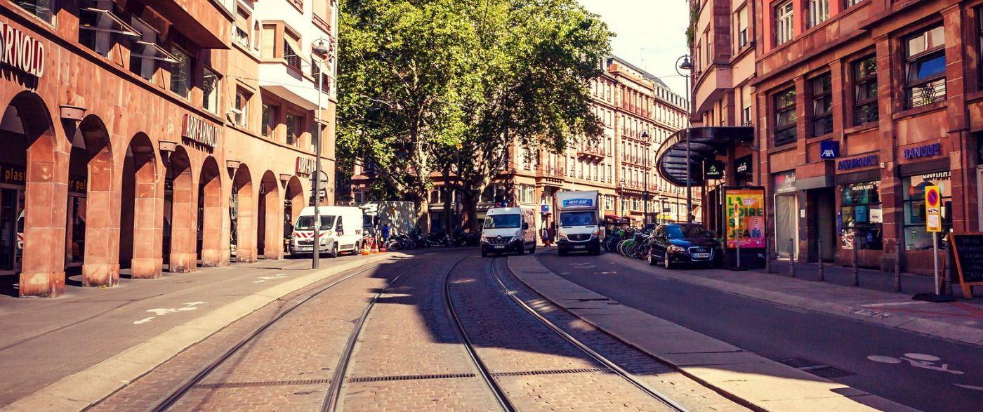 法国斯特拉斯堡(Strasbourg),桥上桥下_图1-30