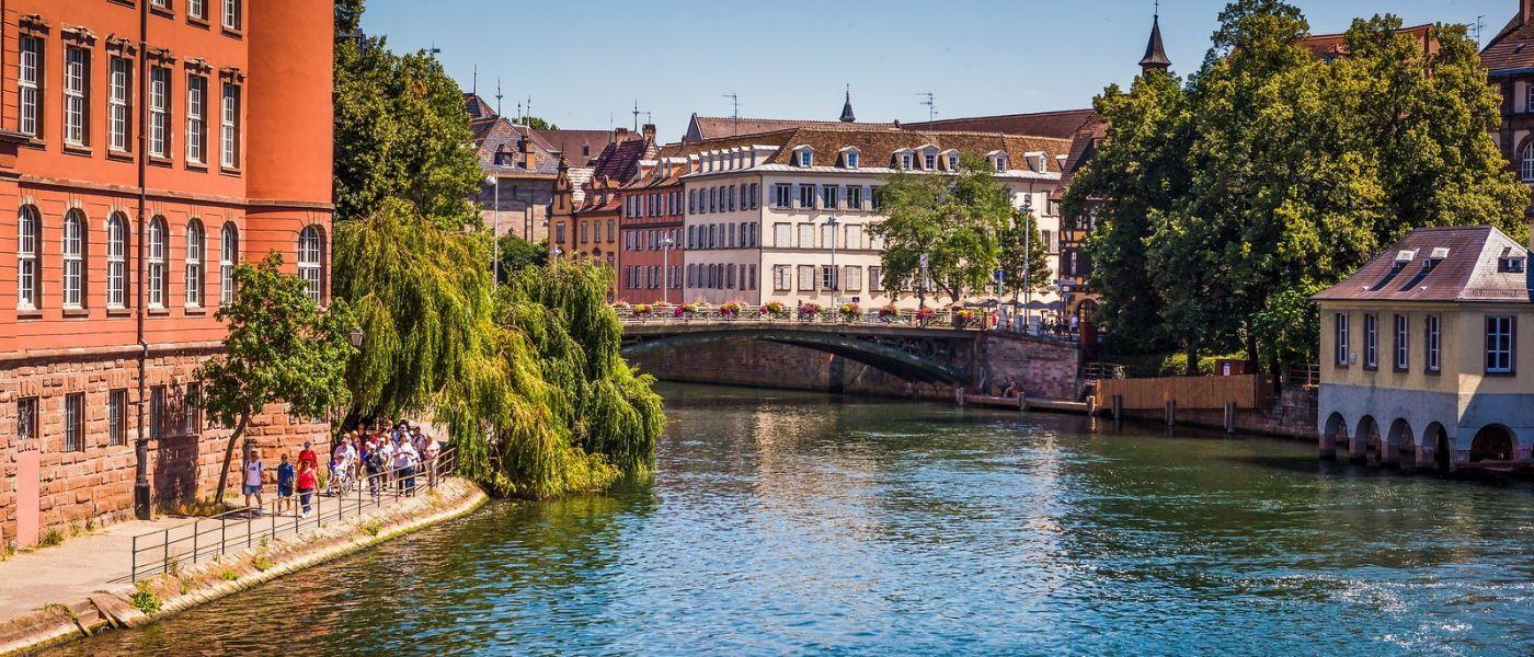 法国斯特拉斯堡(Strasbourg),桥上桥下_图1-29