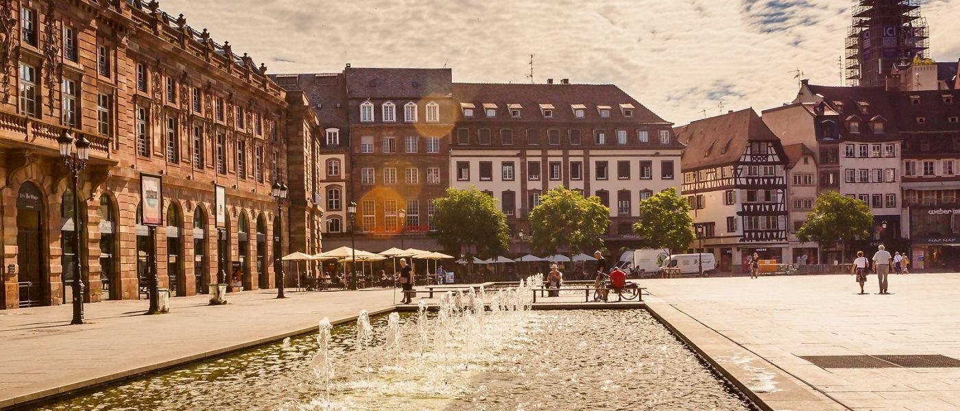 法国斯特拉斯堡(Strasbourg),桥上桥下_图1-34