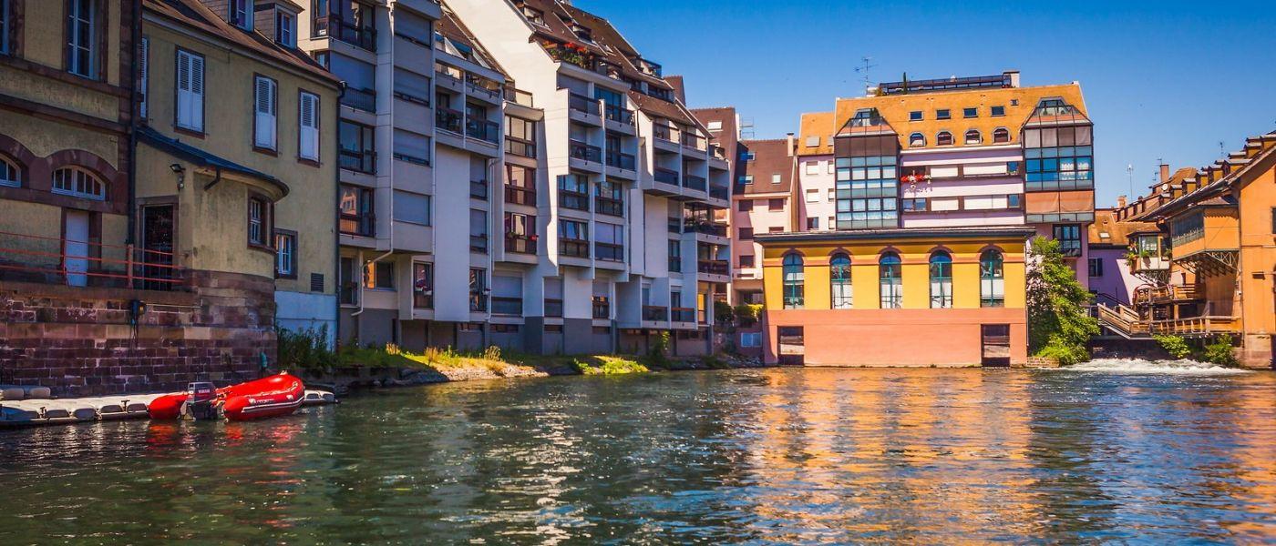 法国斯特拉斯堡(Strasbourg),桥上桥下_图1-35