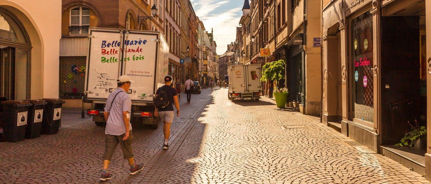 法国斯特拉斯堡(Strasbourg),桥上桥下_图1-36