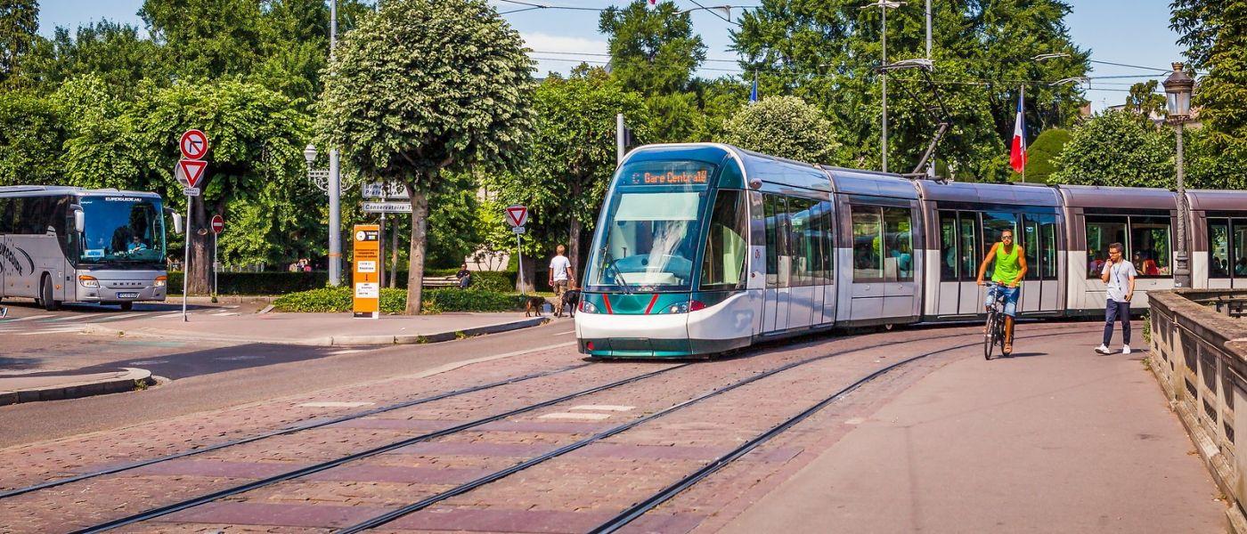 法国斯特拉斯堡(Strasbourg),桥上桥下_图1-40