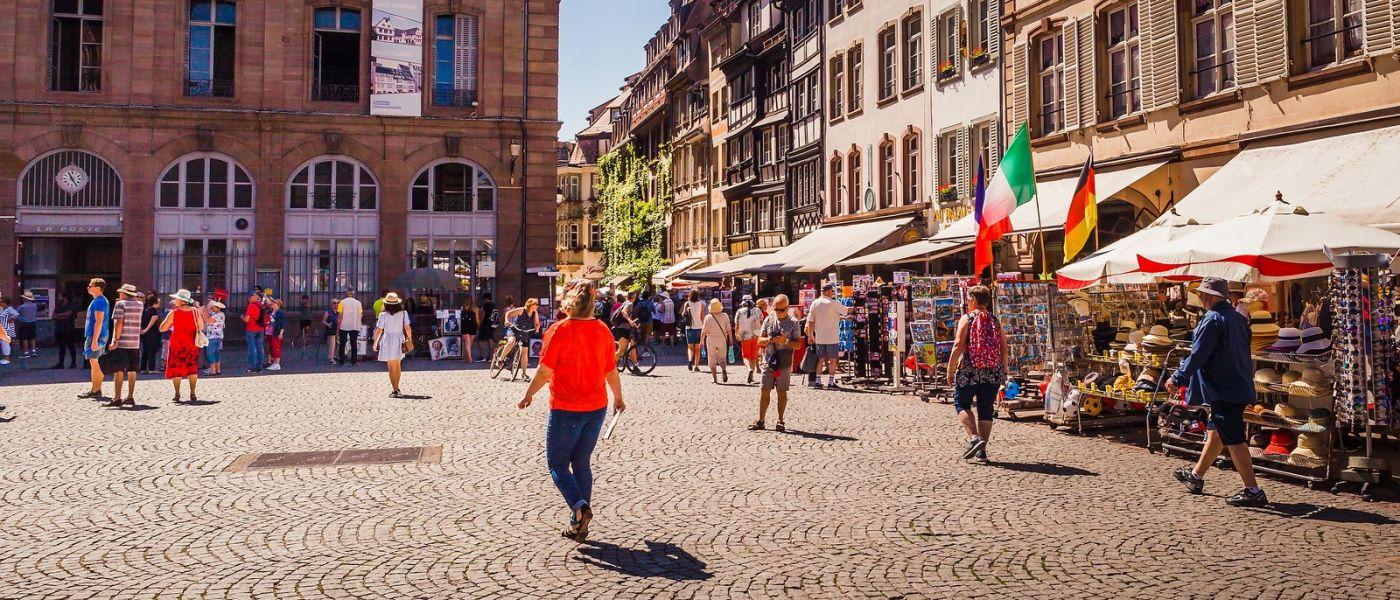 法国斯特拉斯堡(Strasbourg),桥上桥下_图1-37