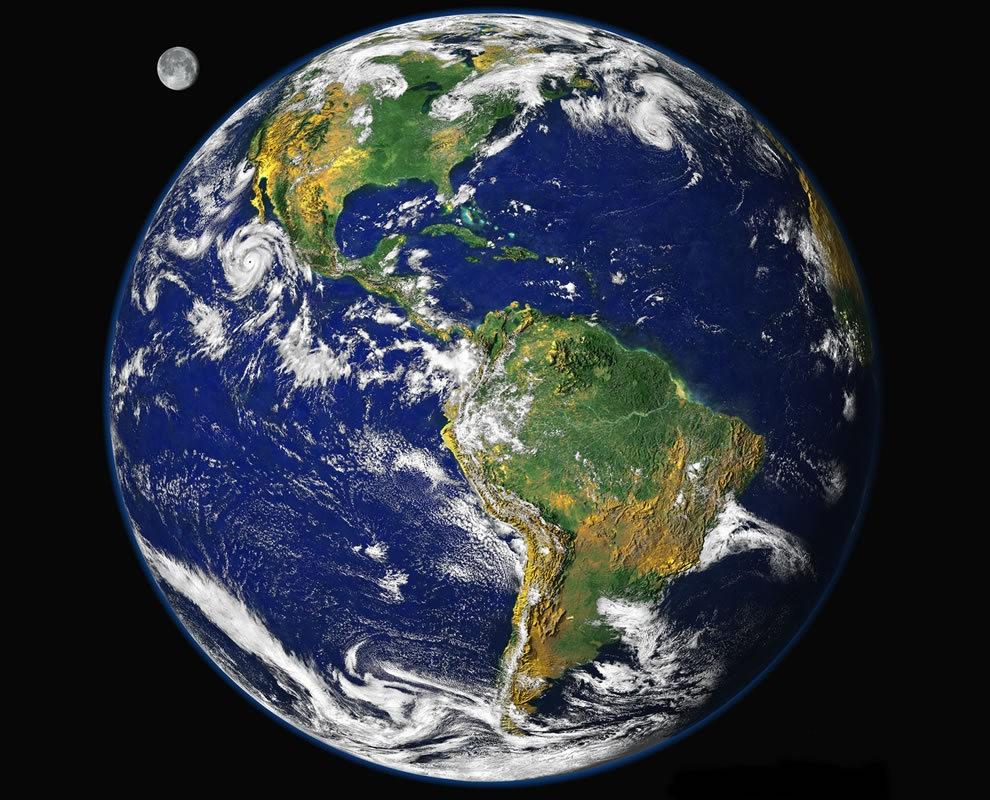 从卫星照片看地球_图1-1