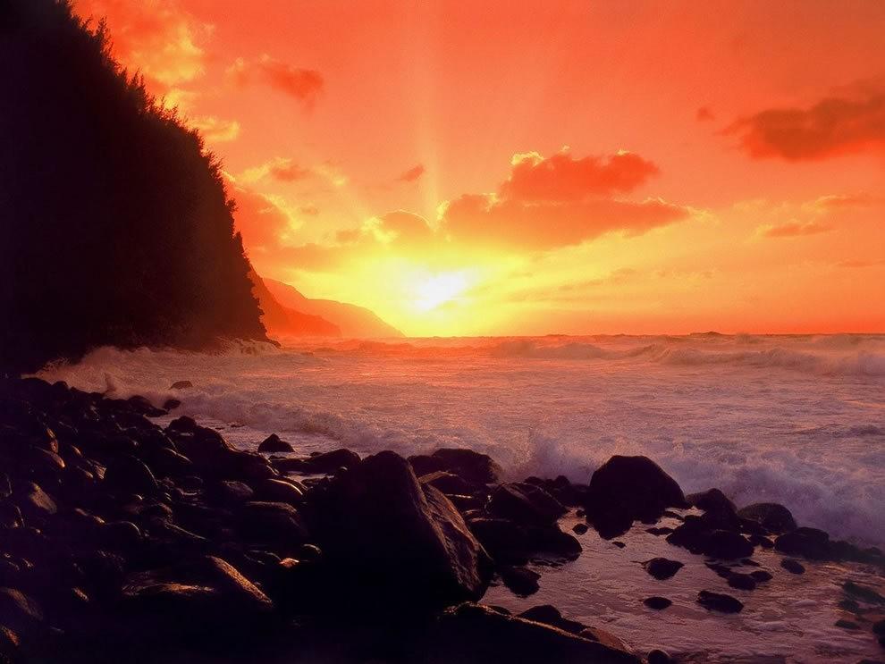 美丽的纳帕里海岸州立公园_图1-22