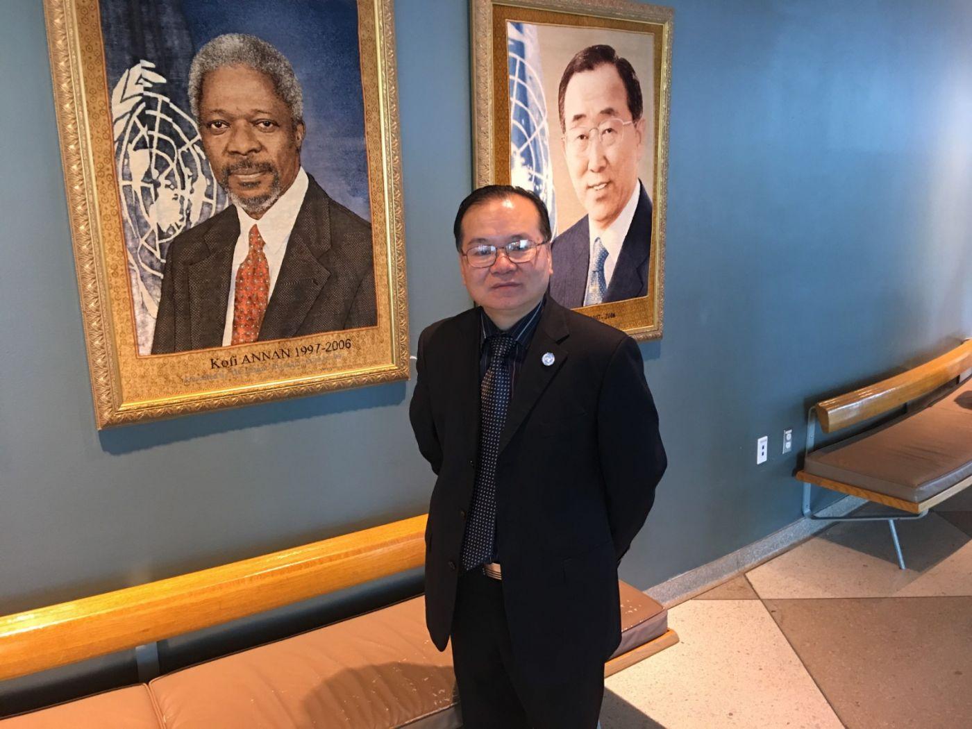 《天下华人》杂志:中国书法走向世界--美国中国书法家协会主席李兆银 ... ... ..._图1-7