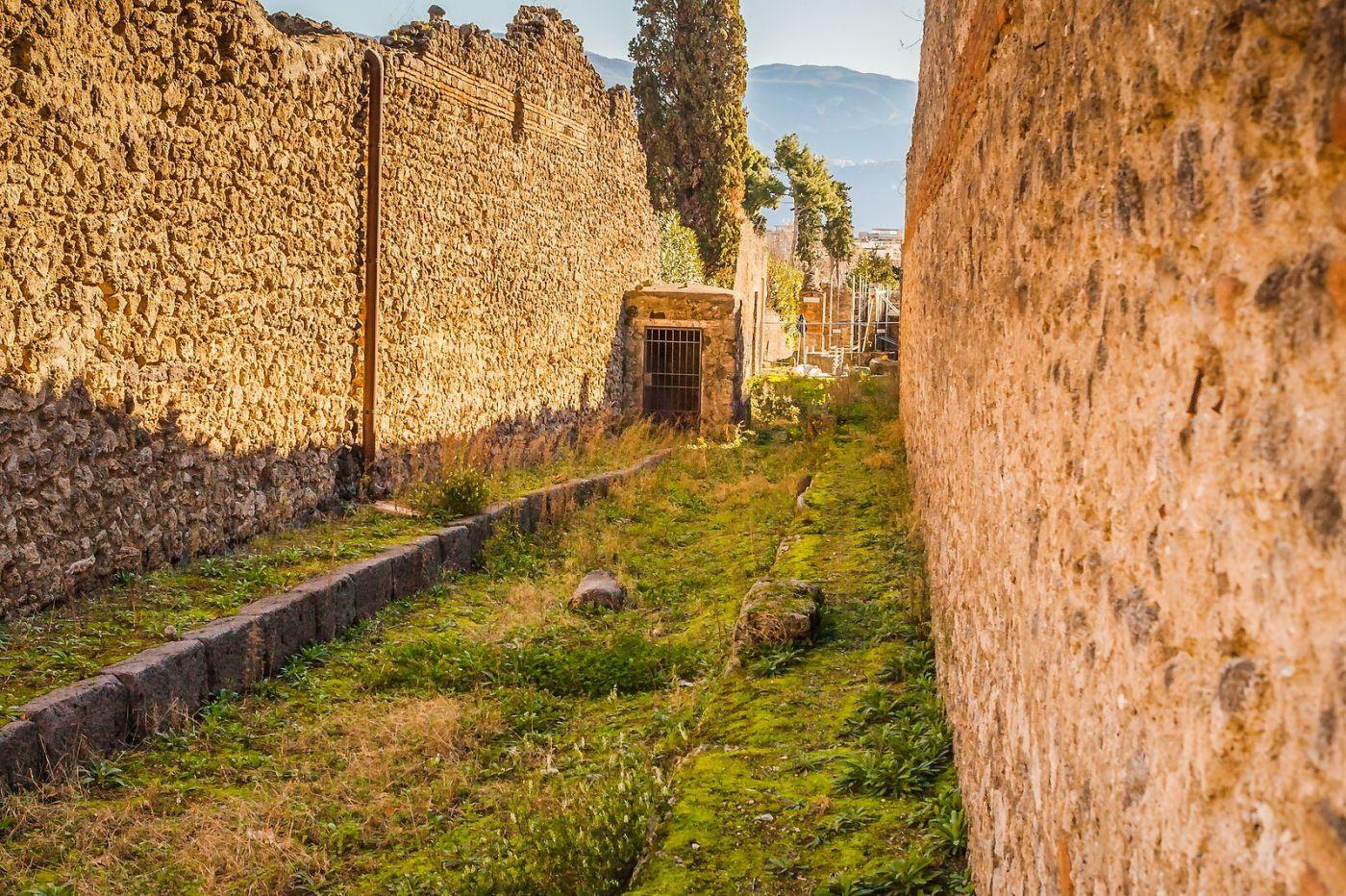 意大利一世纪古城庞贝,那时城市道路_图1-12