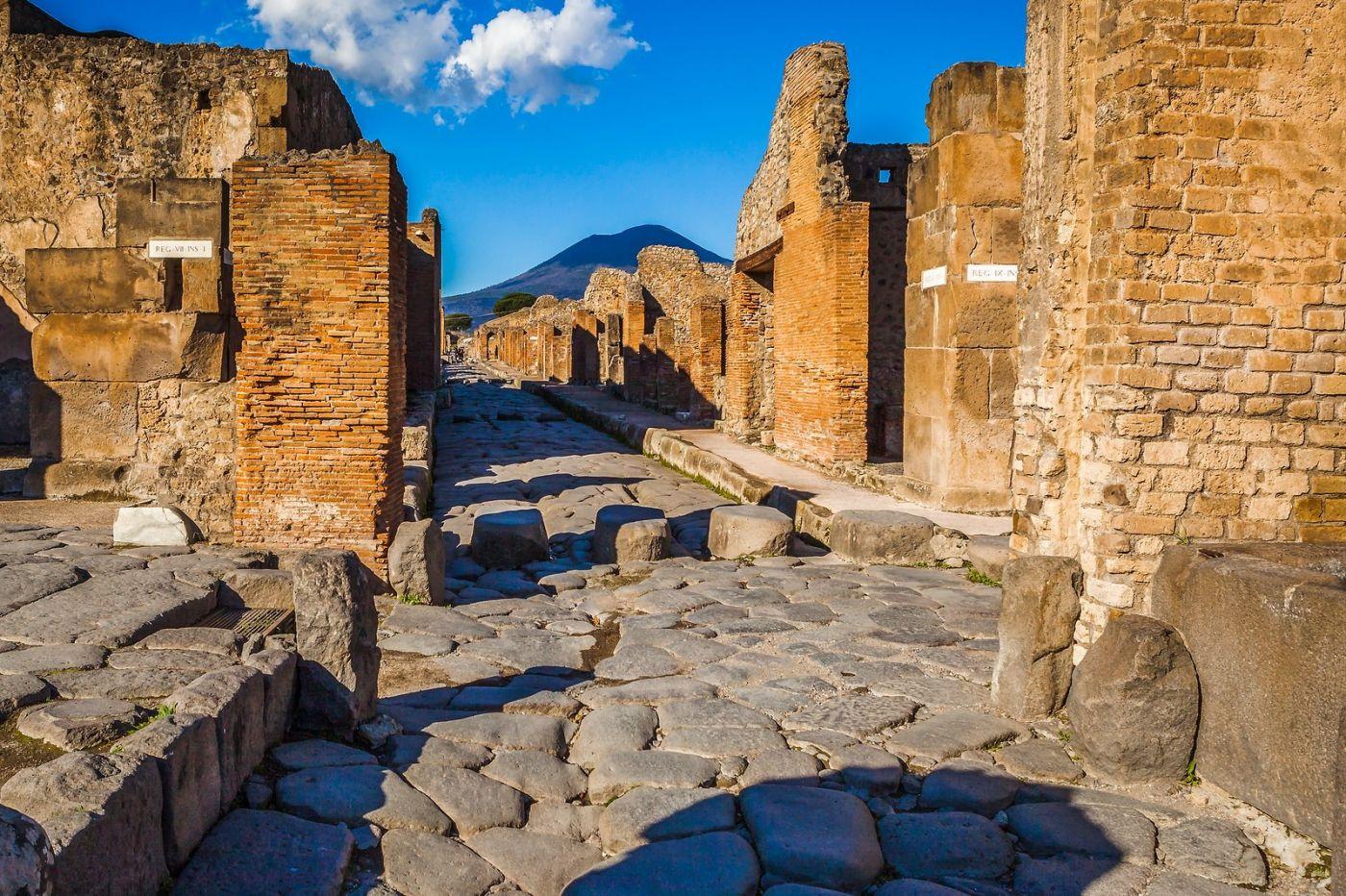 意大利一世纪古城庞贝,那时城市道路_图1-16