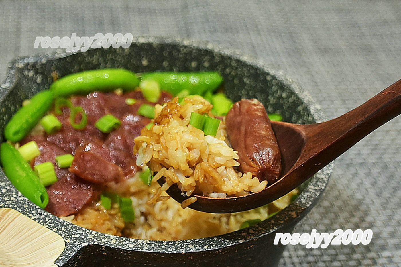 石鍋臘腸飯_圖1-1