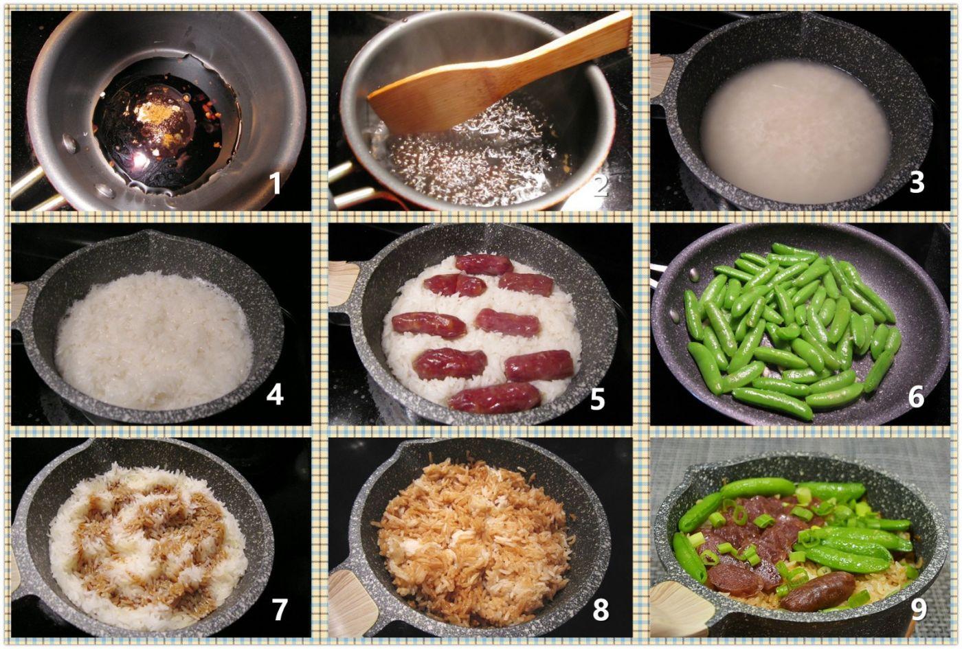 石鍋臘腸飯_圖1-2
