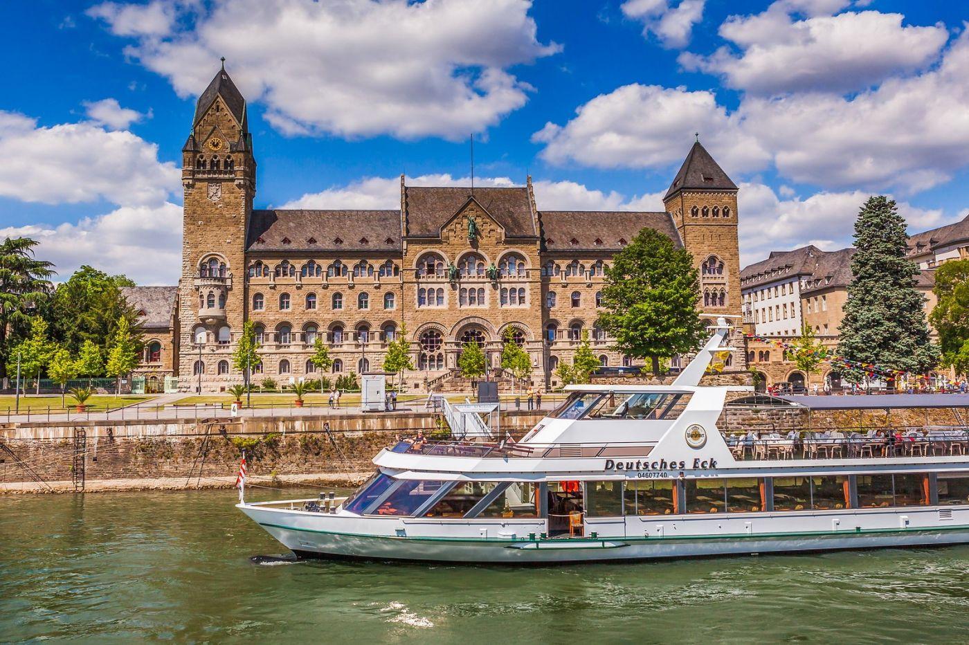 畅游莱茵河,游船商船另一道景_图1-34