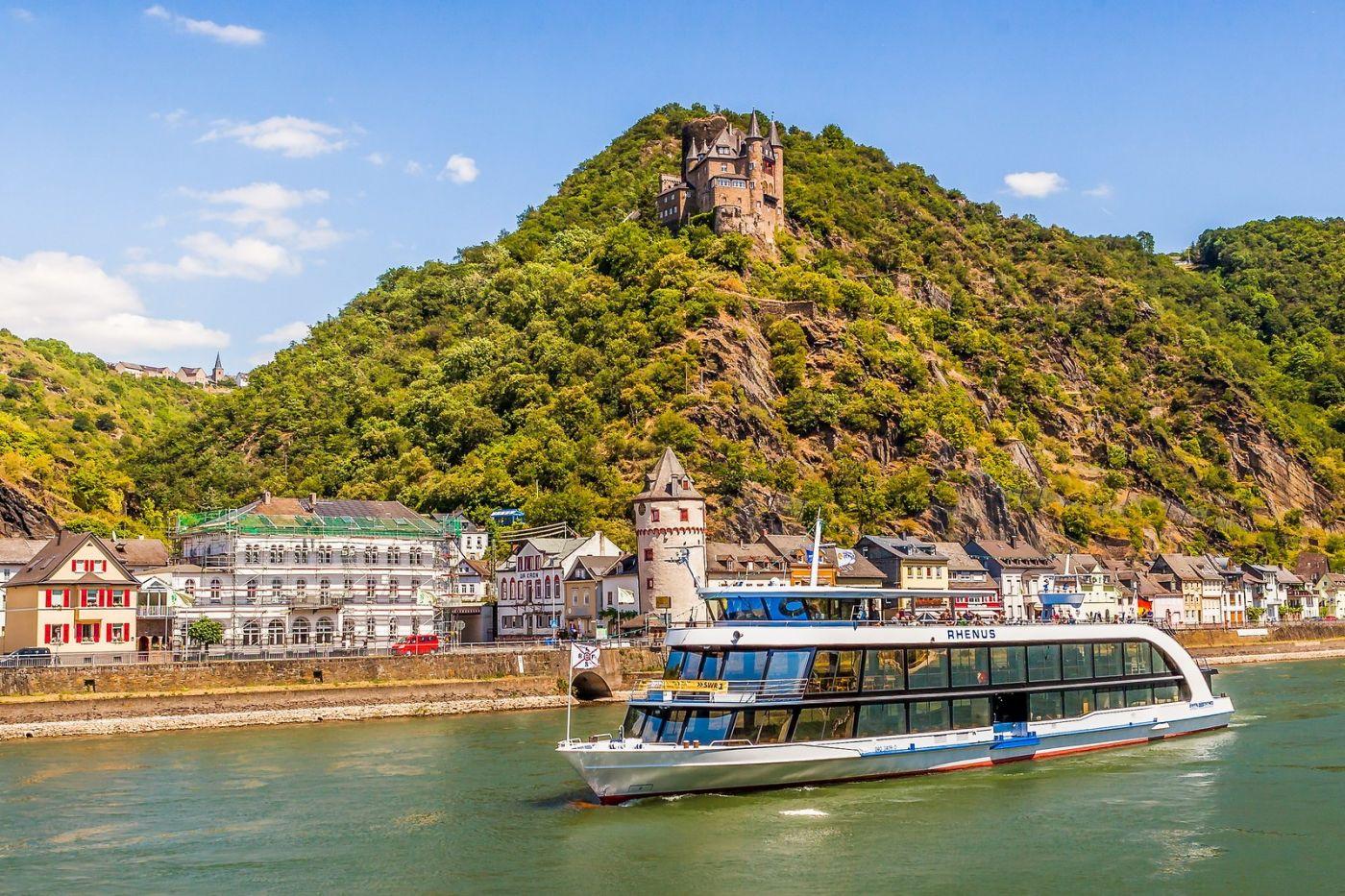 畅游莱茵河,游船商船另一道景_图1-31