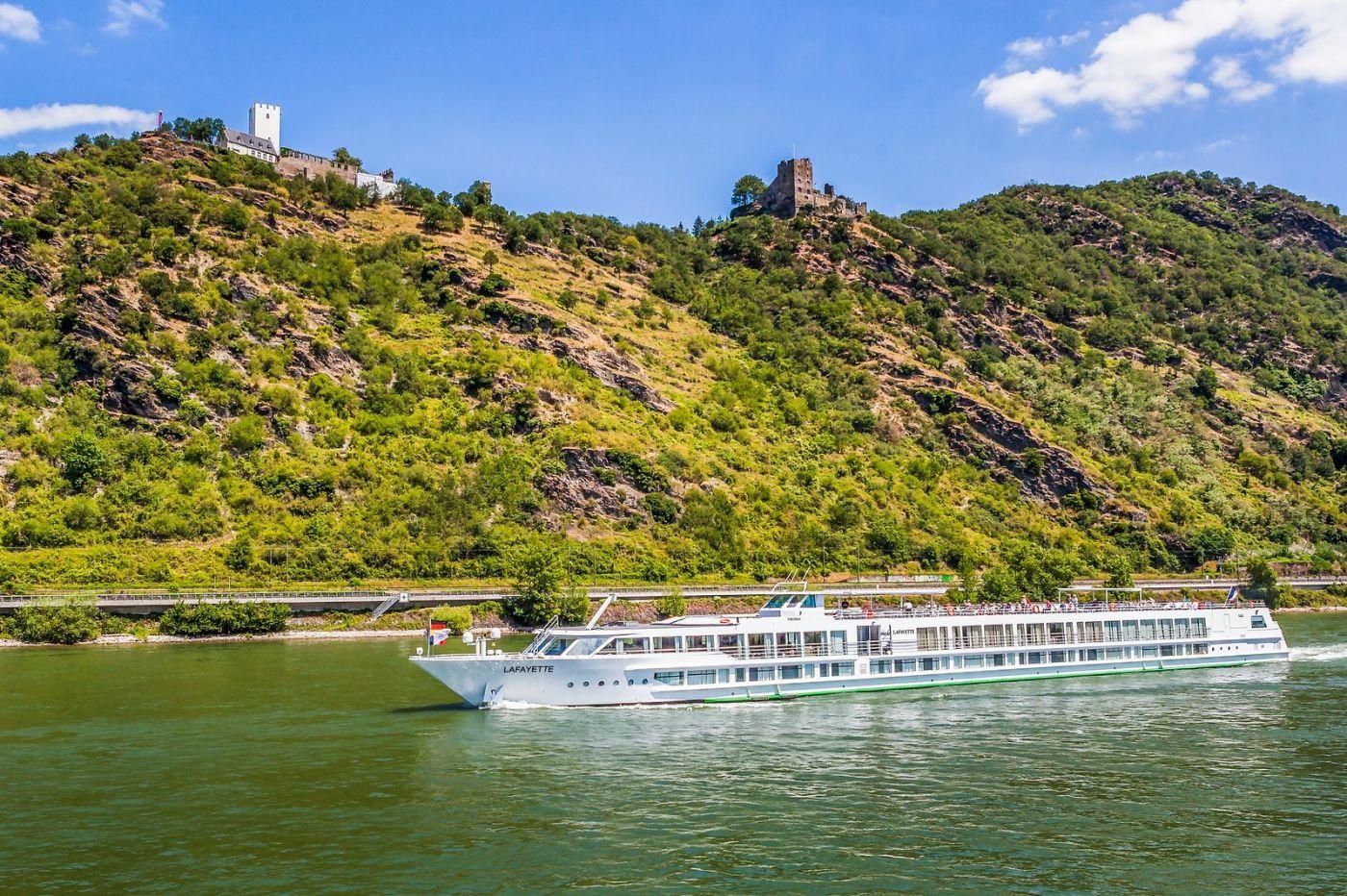 畅游莱茵河,游船商船另一道景_图1-29