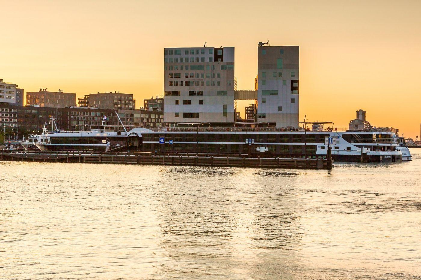畅游莱茵河,游船商船另一道景_图1-18