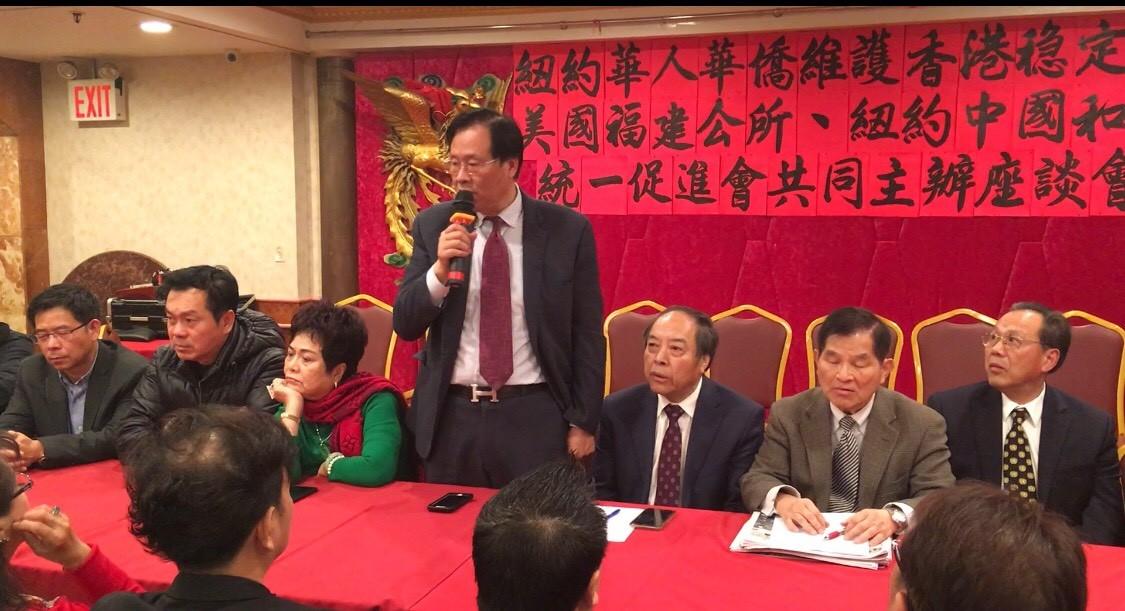紐約華人華僑維護香港穩定繁榮座談會在紐約舉行_图1-8