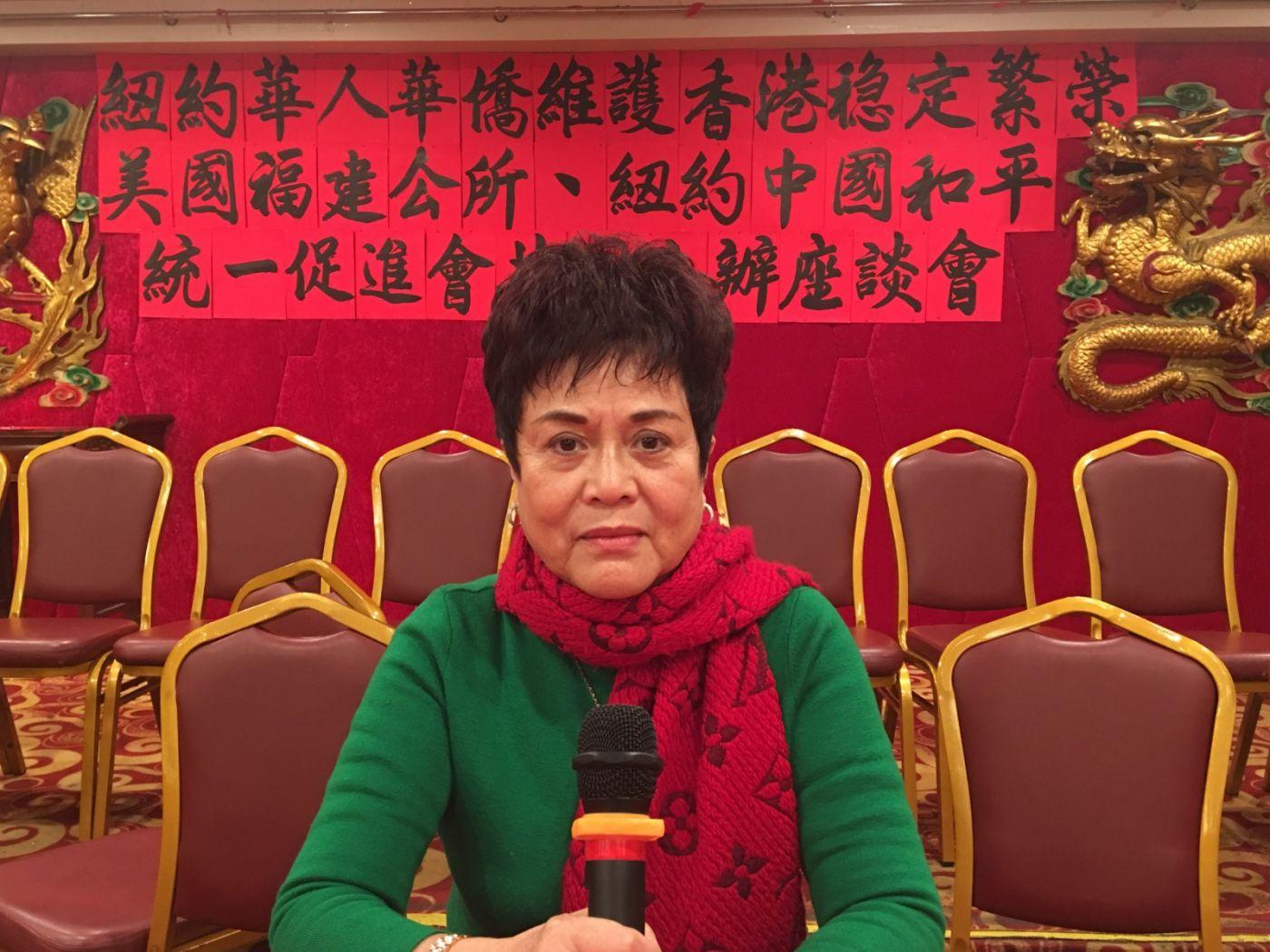紐約華人華僑維護香港穩定繁榮座談會在紐約舉行_图1-10