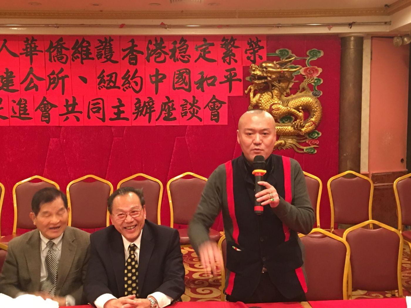 紐約華人華僑維護香港穩定繁榮座談會在紐約舉行_图1-19