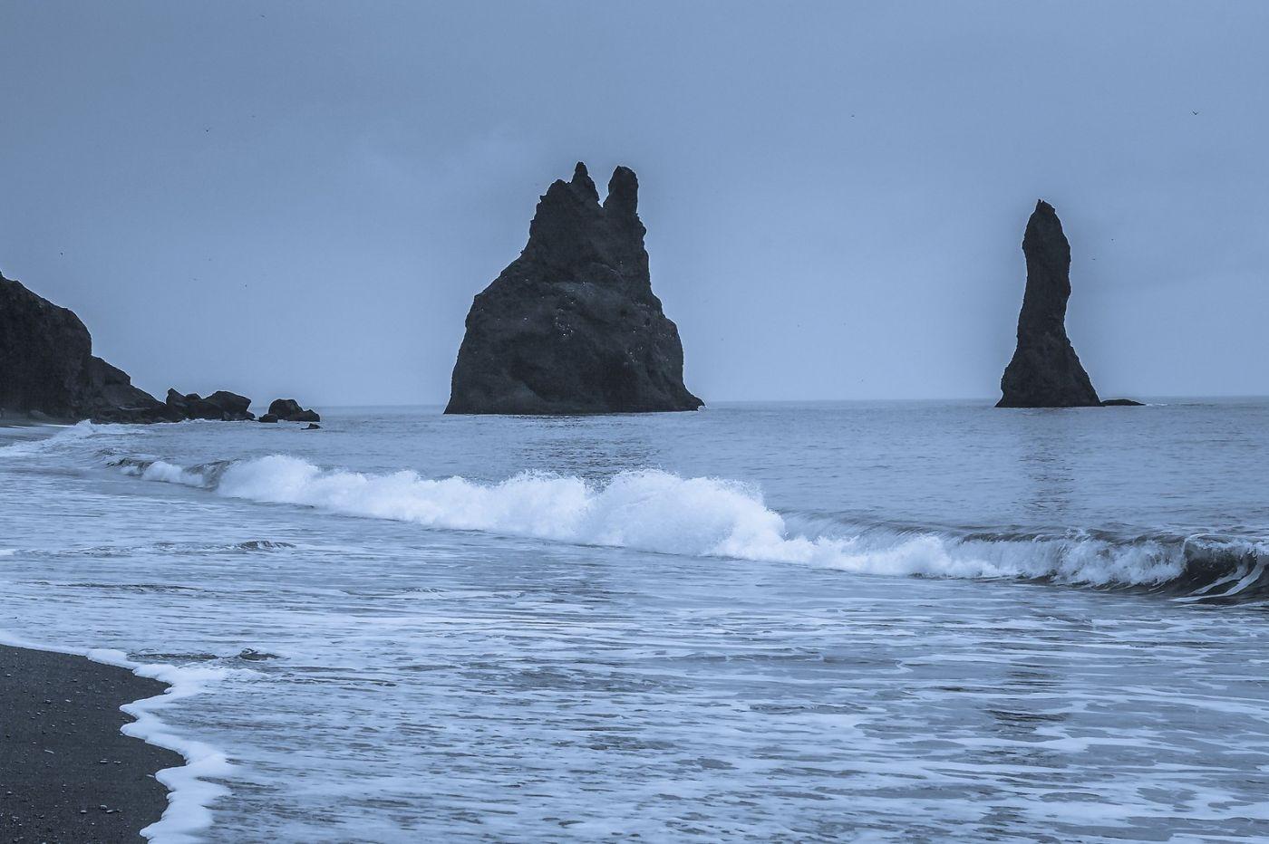 冰岛雷尼斯法加拉黑沙滩(Reynisfjara Black Sand Beach)_图1-8