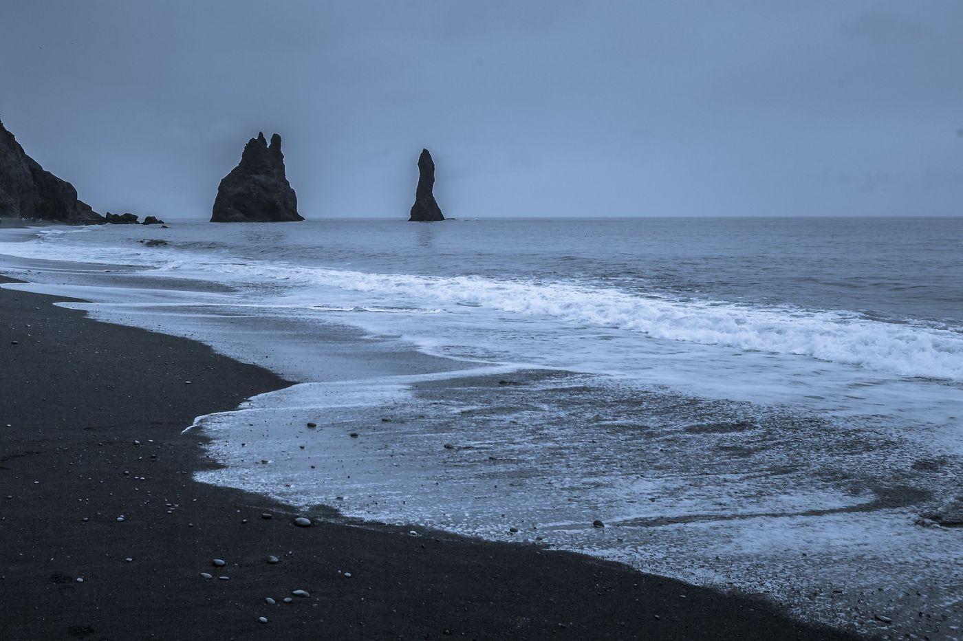 冰岛雷尼斯法加拉黑沙滩(Reynisfjara Black Sand Beach)_图1-6