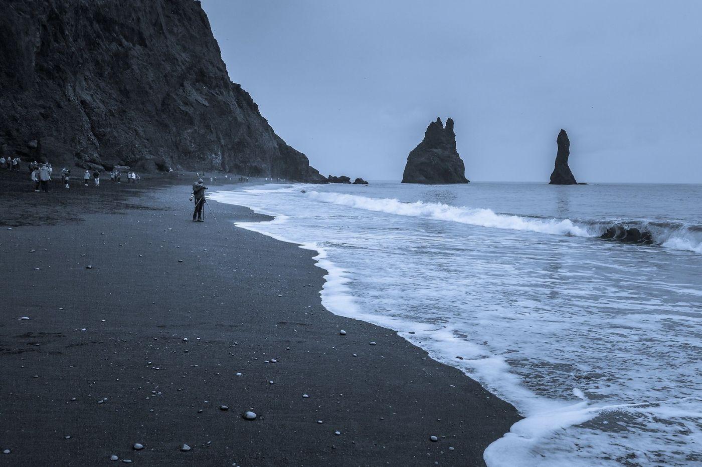 冰岛雷尼斯法加拉黑沙滩(Reynisfjara Black Sand Beach)_图1-1