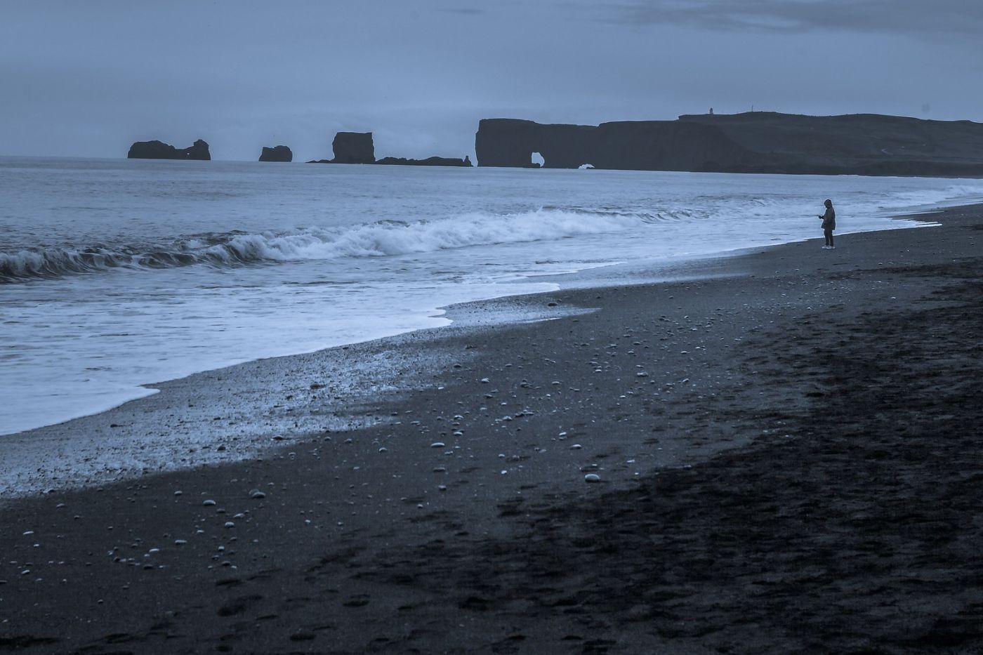 冰岛雷尼斯法加拉黑沙滩(Reynisfjara Black Sand Beach)_图1-4