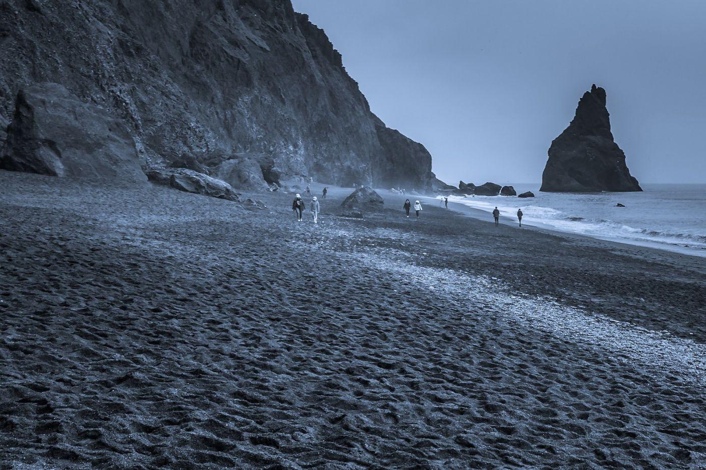 冰岛雷尼斯法加拉黑沙滩(Reynisfjara Black Sand Beach)_图1-10