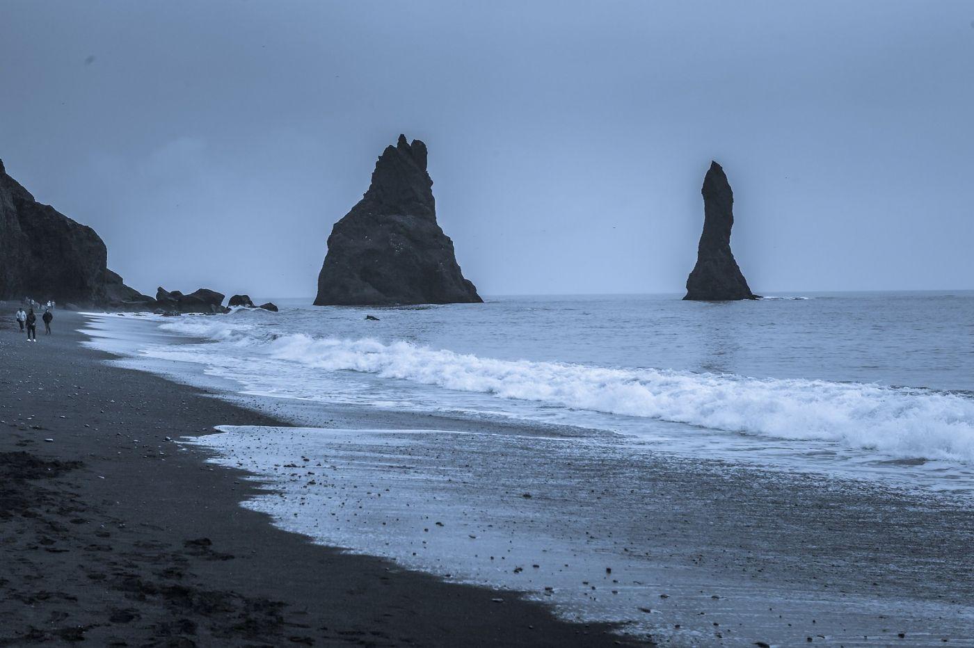 冰岛雷尼斯法加拉黑沙滩(Reynisfjara Black Sand Beach)_图1-15
