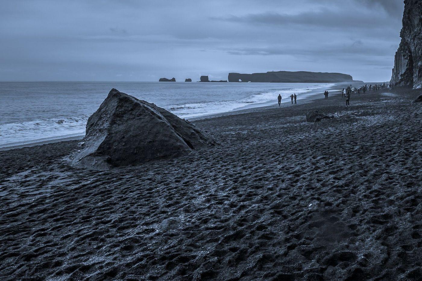 冰岛雷尼斯法加拉黑沙滩(Reynisfjara Black Sand Beach)_图1-14