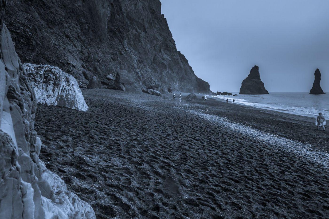 冰岛雷尼斯法加拉黑沙滩(Reynisfjara Black Sand Beach)_图1-20