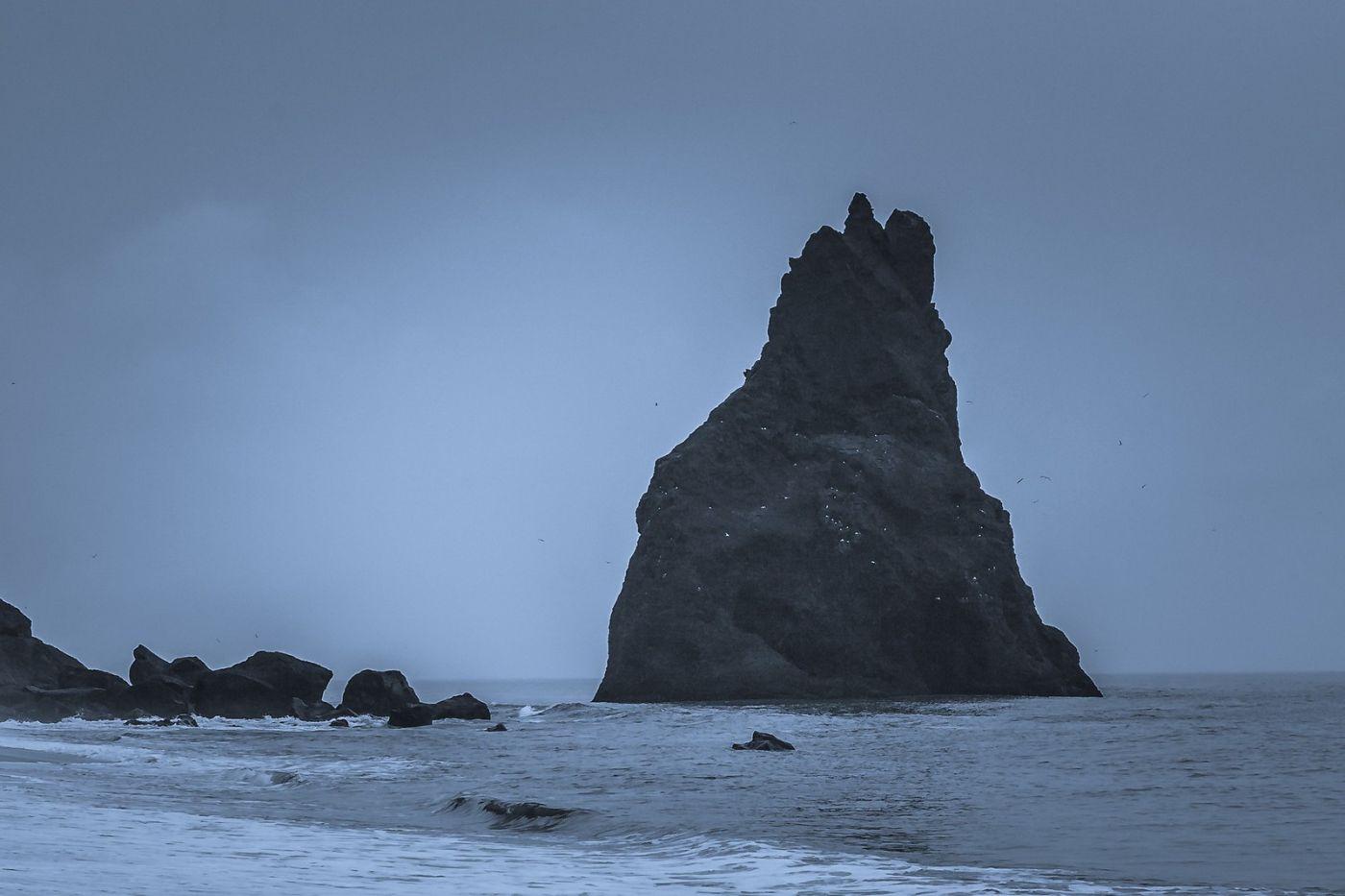 冰岛雷尼斯法加拉黑沙滩(Reynisfjara Black Sand Beach)_图1-22
