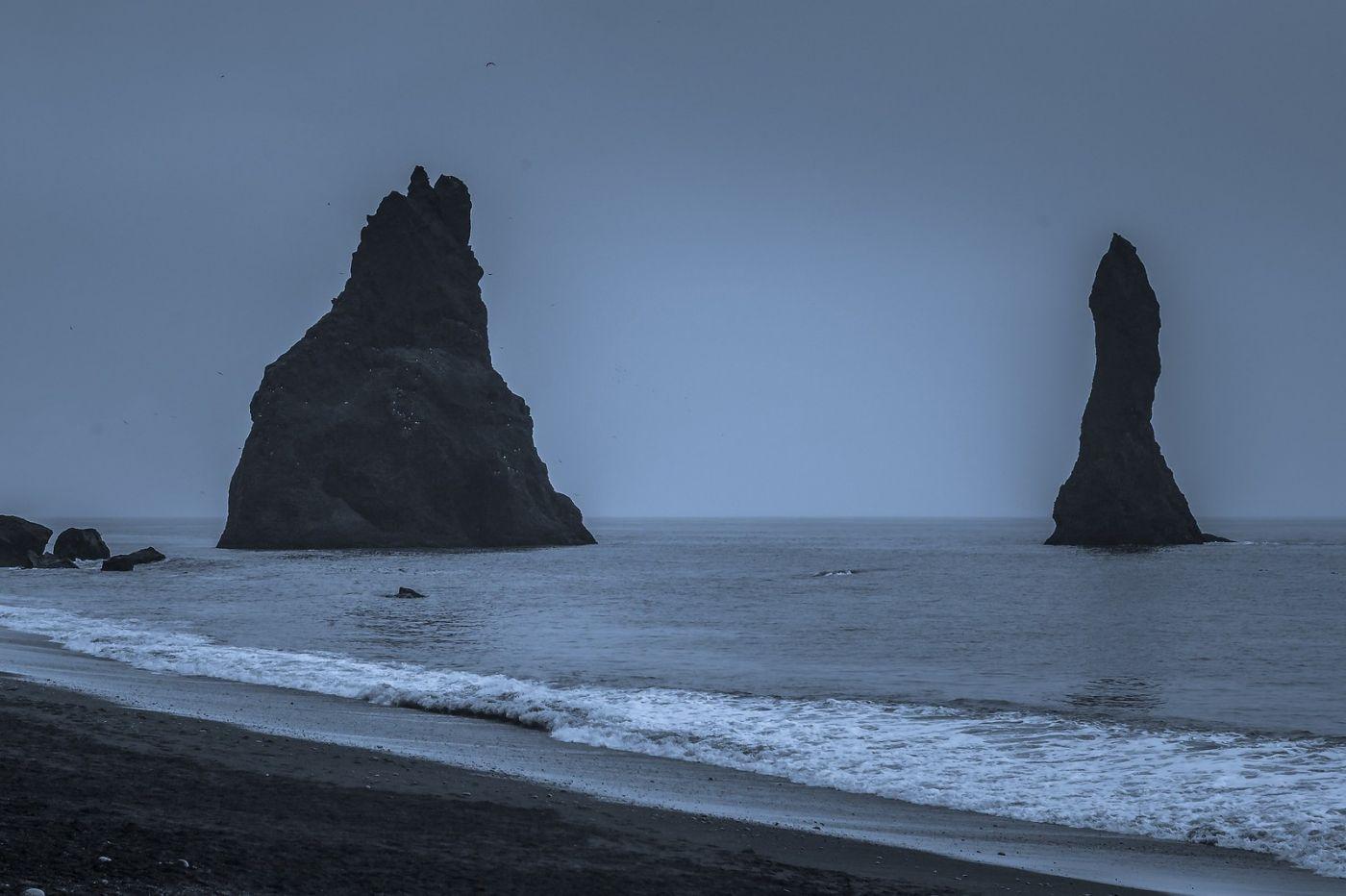 冰岛雷尼斯法加拉黑沙滩(Reynisfjara Black Sand Beach)_图1-26