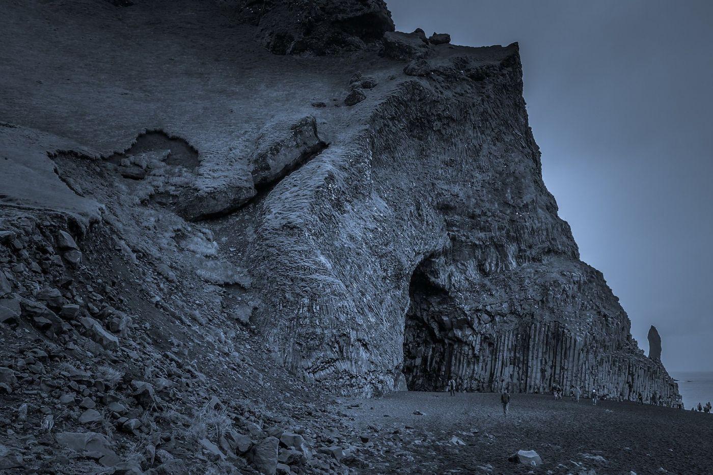 冰岛雷尼斯法加拉黑沙滩(Reynisfjara Black Sand Beach)_图1-27