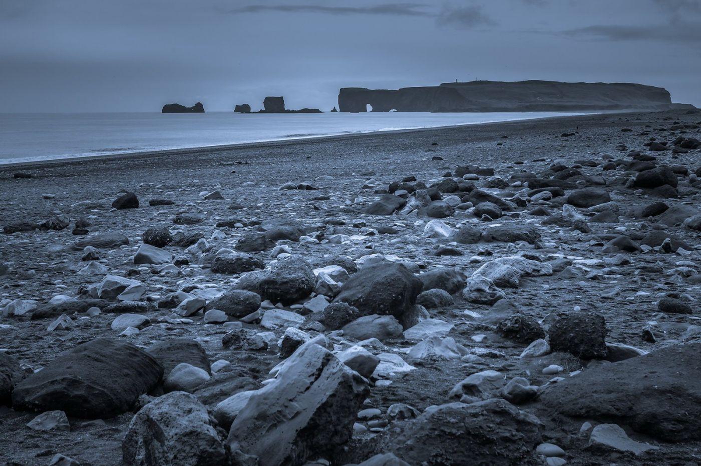 冰岛雷尼斯法加拉黑沙滩(Reynisfjara Black Sand Beach)_图1-30