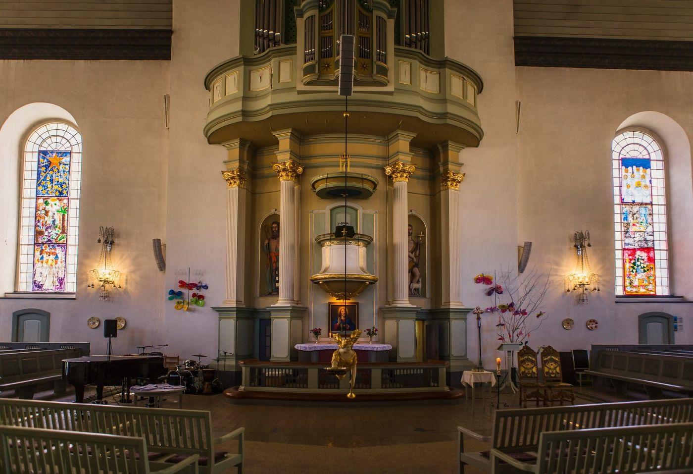 挪威卑尔根市(Bergen),有意思的小教堂_图1-10