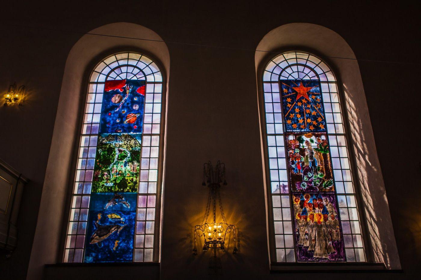 挪威卑尔根市(Bergen),有意思的小教堂_图1-8
