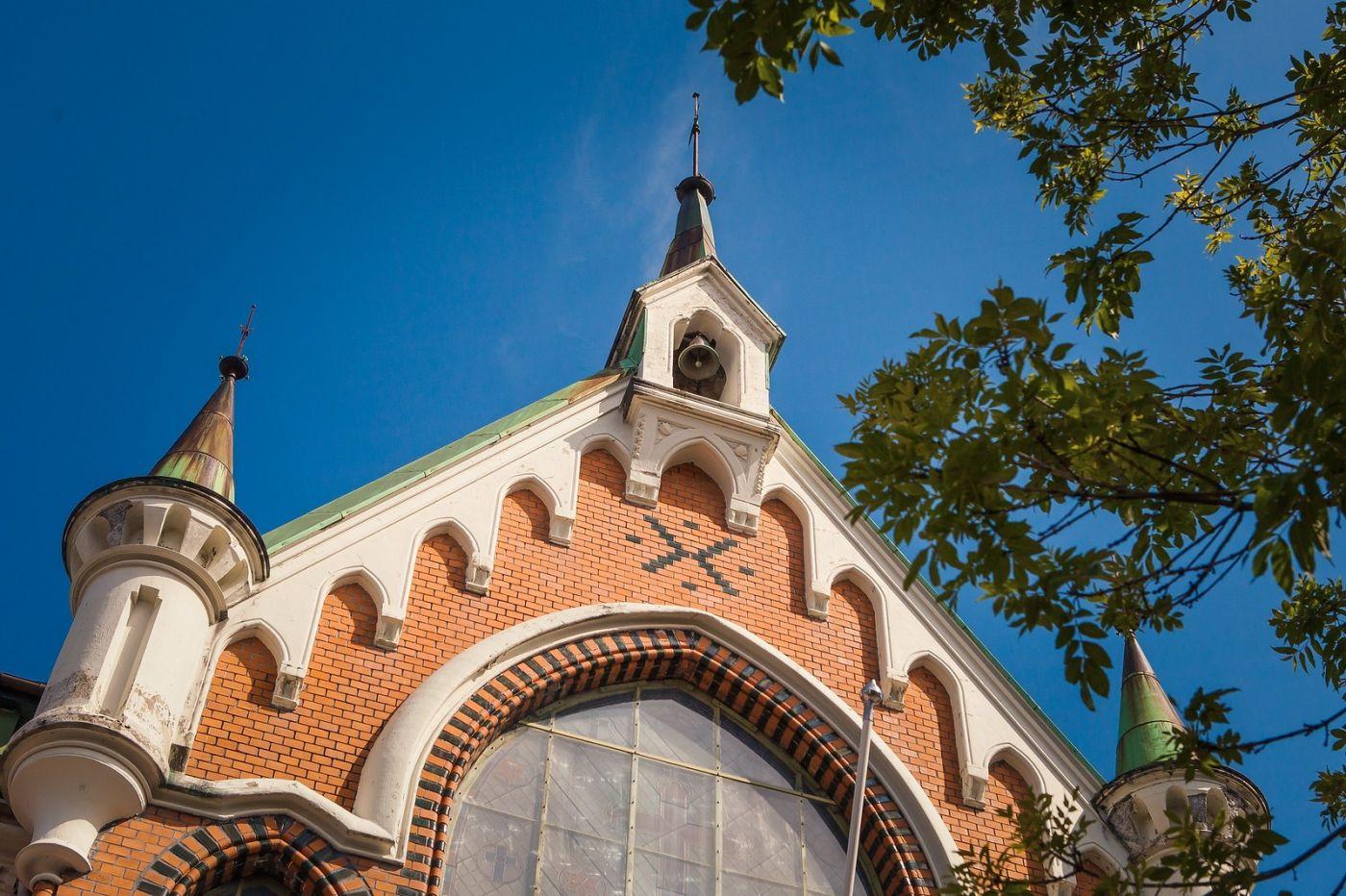 挪威卑尔根市(Bergen),有意思的小教堂_图1-20