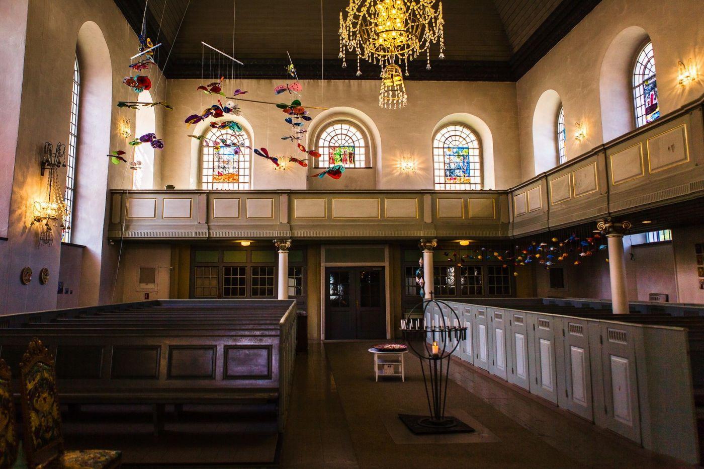 挪威卑尔根市(Bergen),有意思的小教堂_图1-27