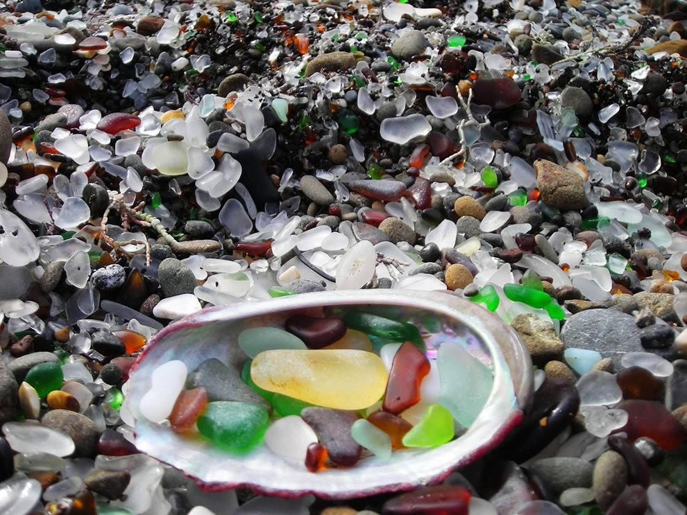 麦基里奇州立公园之----玻璃海滩_图1-5