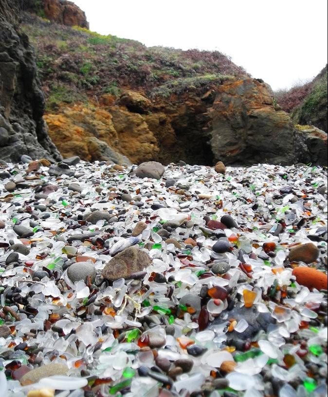 麦基里奇州立公园之----玻璃海滩_图1-7