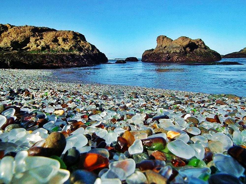 麦基里奇州立公园之----玻璃海滩_图1-23