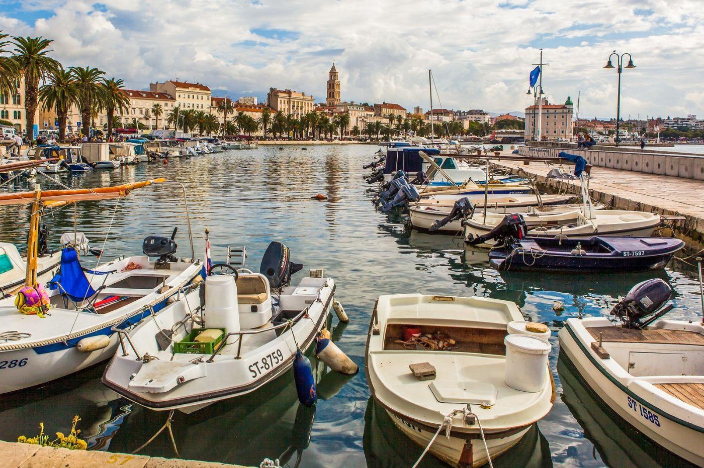 克罗地亚斯普利特(Split),美丽海滨城市_图1-39