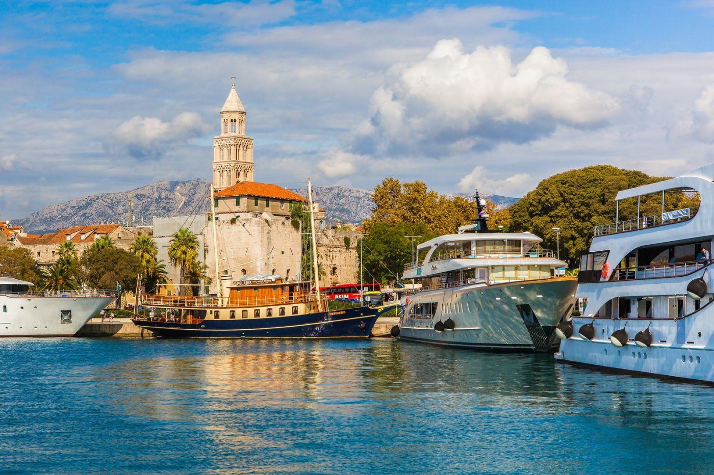 克罗地亚斯普利特(Split),美丽海滨城市_图1-38