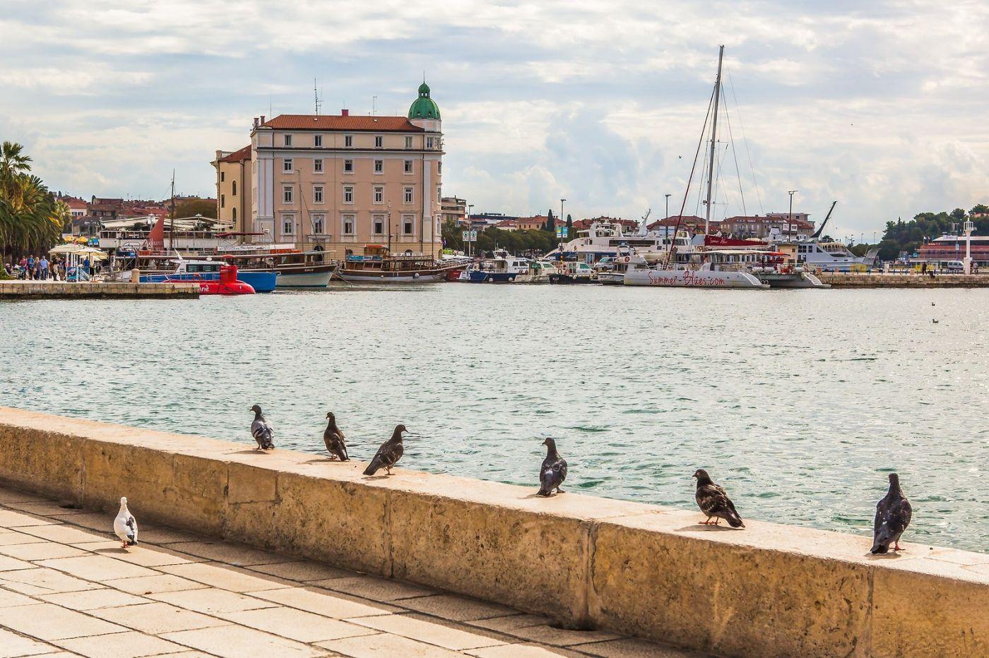 克罗地亚斯普利特(Split),美丽海滨城市_图1-33