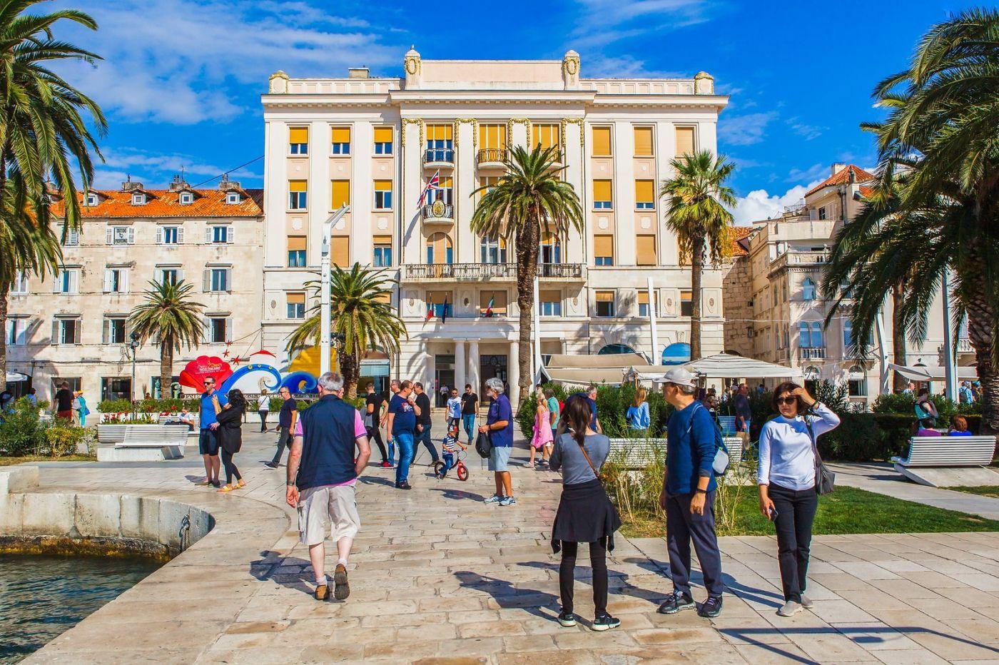 克罗地亚斯普利特(Split),美丽海滨城市_图1-32