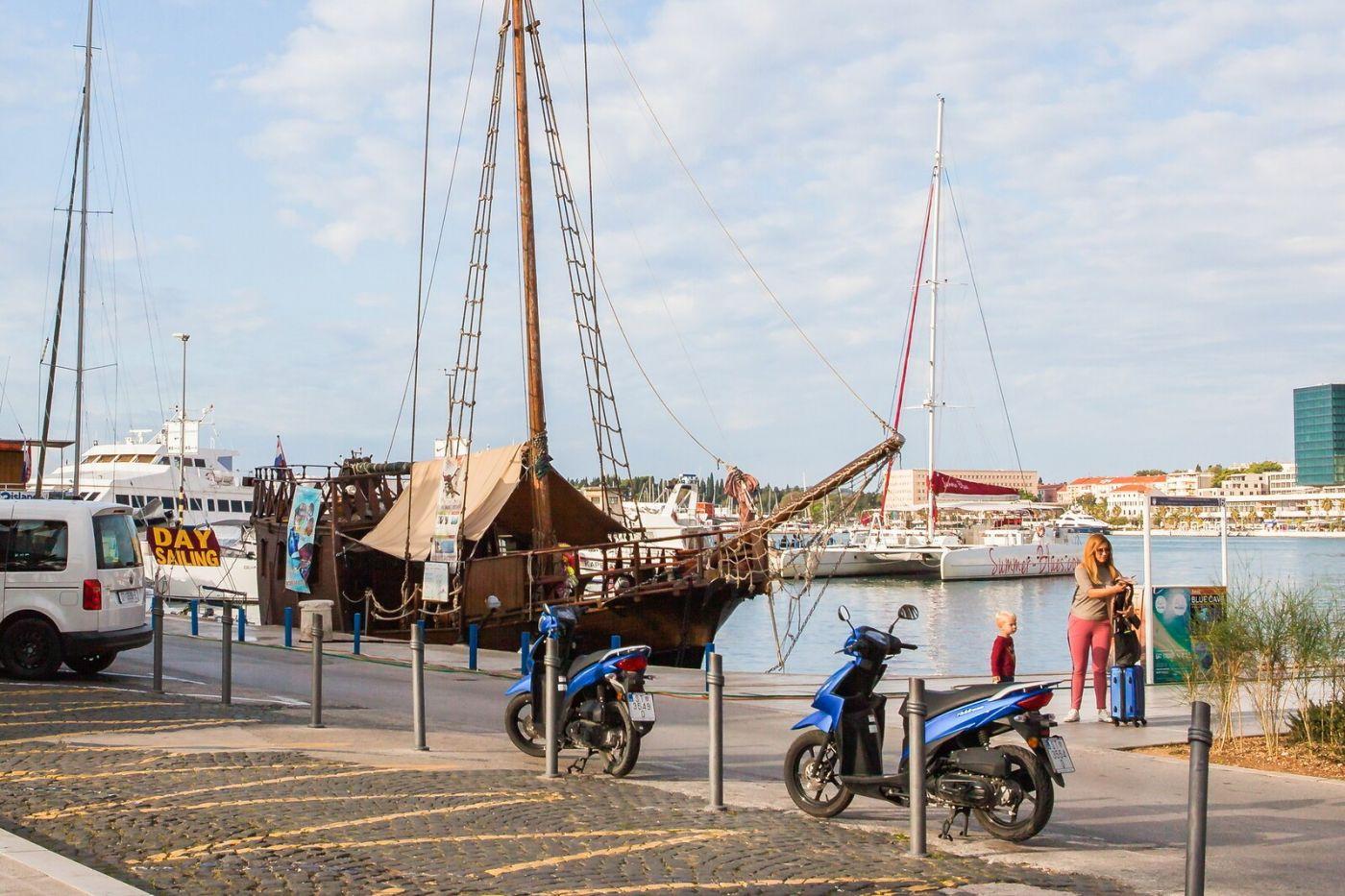 克罗地亚斯普利特(Split),美丽海滨城市_图1-30