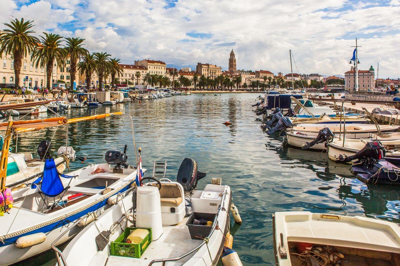 克罗地亚斯普利特(Split),美丽海滨城市_图1-29