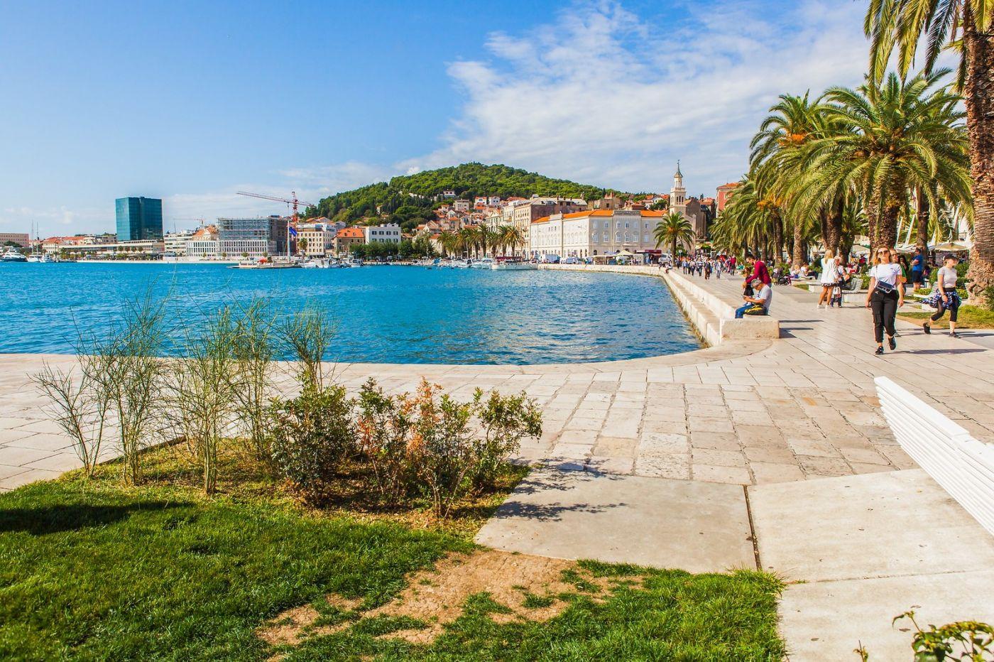克罗地亚斯普利特(Split),美丽海滨城市_图1-26