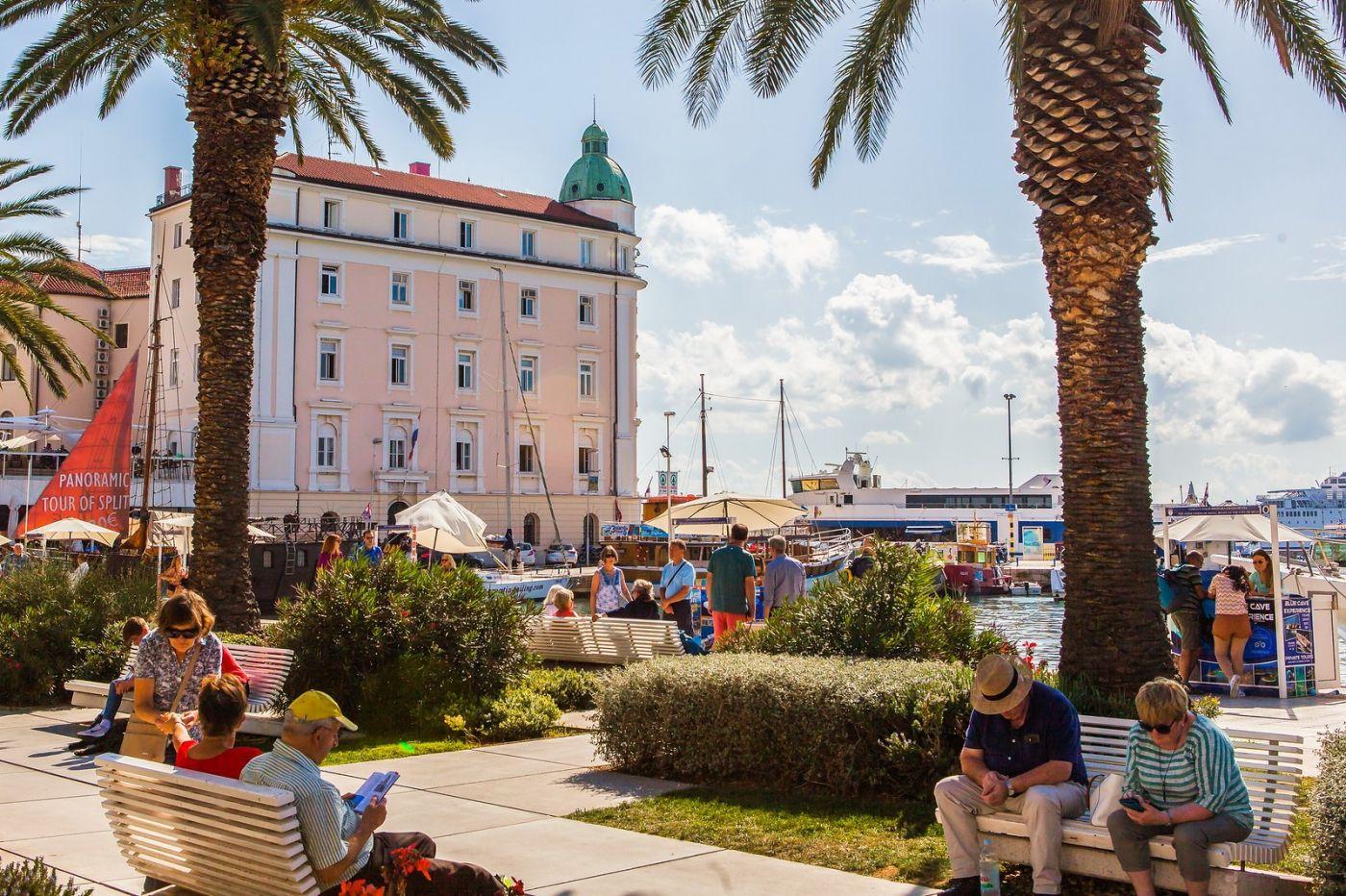 克罗地亚斯普利特(Split),美丽海滨城市_图1-28
