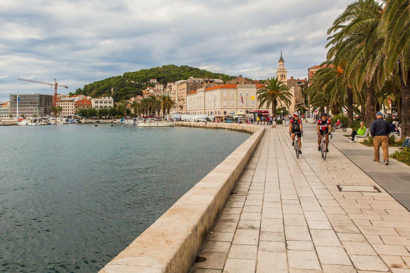克罗地亚斯普利特(Split),美丽海滨城市_图1-24