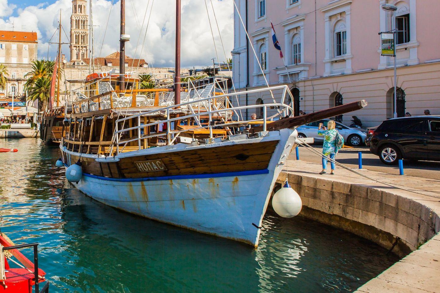 克罗地亚斯普利特(Split),美丽海滨城市_图1-22
